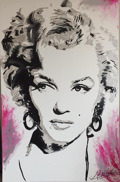 Marilyn Monroe by JulieRigailAsnar